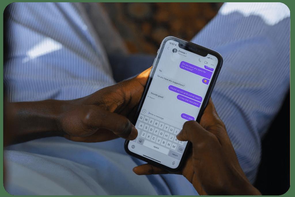 pisanie sms