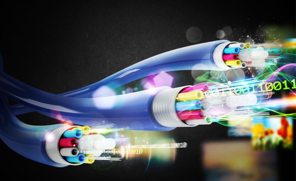 Speed test - światłowód