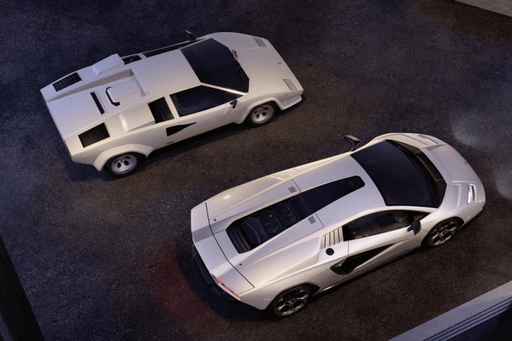 Porównanie najnowszego Lamborghini z 50 letnim