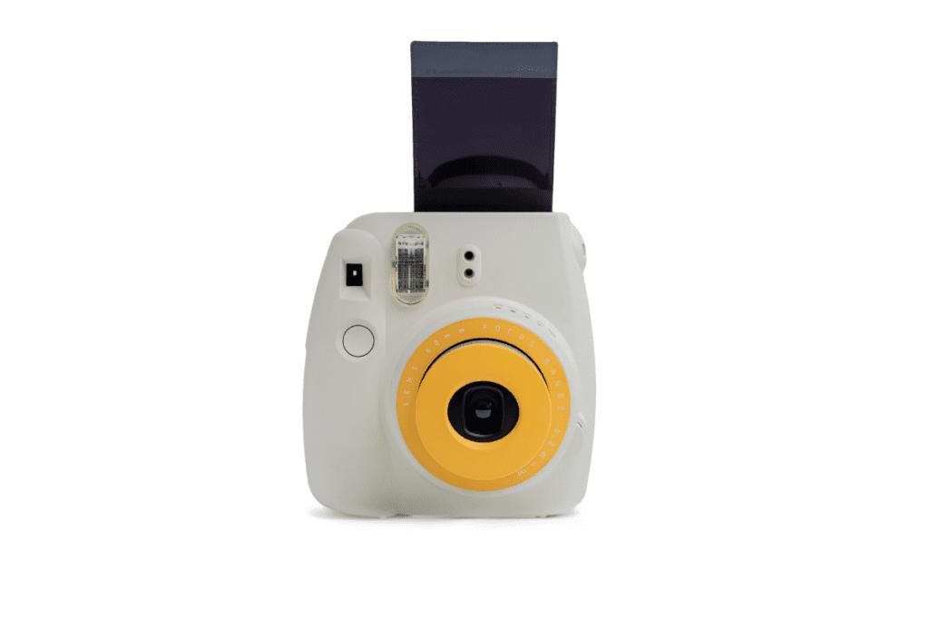 Działanie aparatu typu polaroid