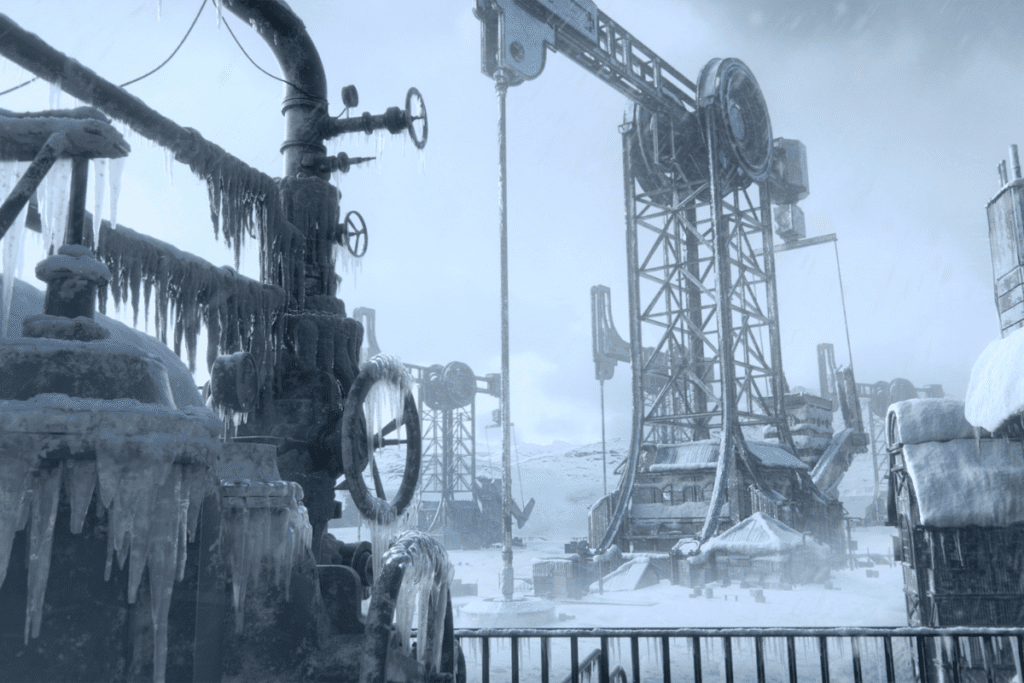 Miasto w Frostpunku