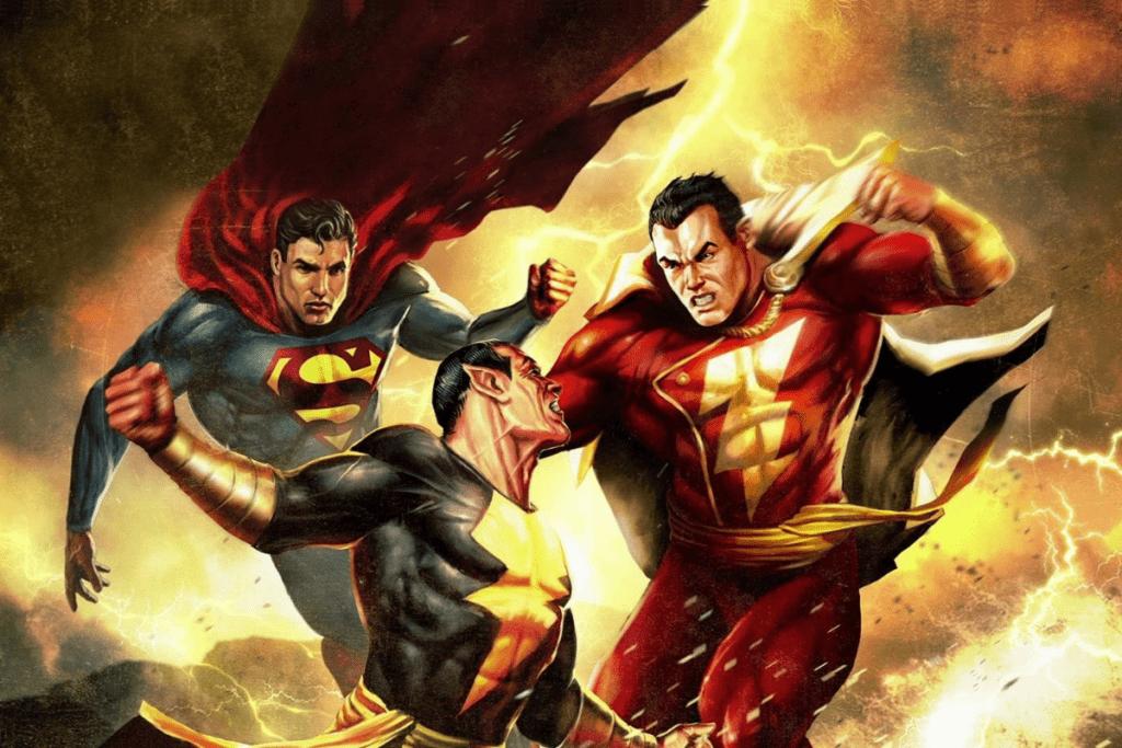 Black Adam, Superman i Shazam