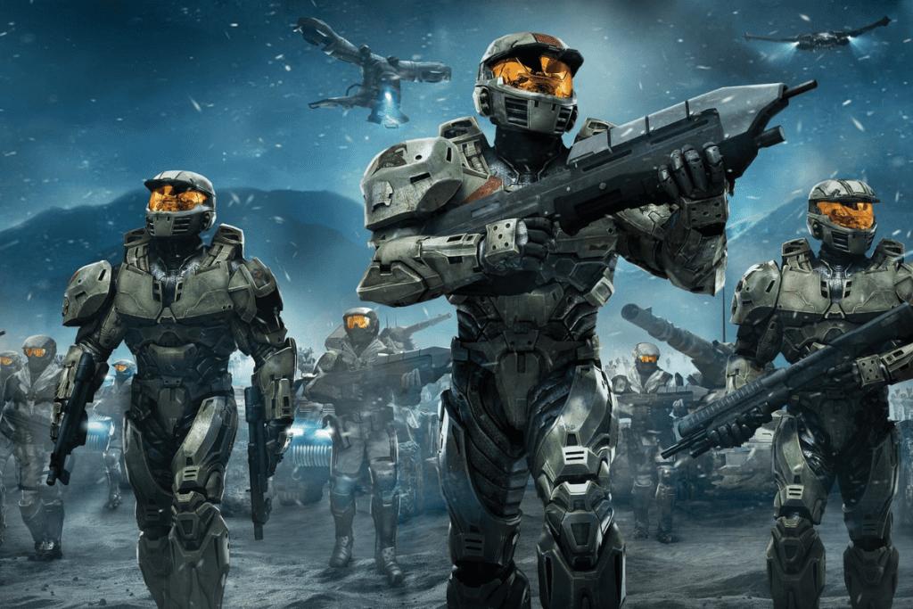 Żołnierz z Halo Infinite