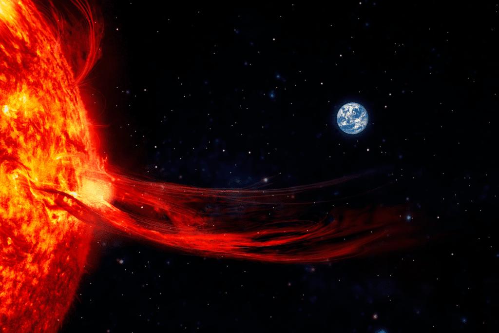 Zagrożenie dla ziemi czyli burze słoneczne