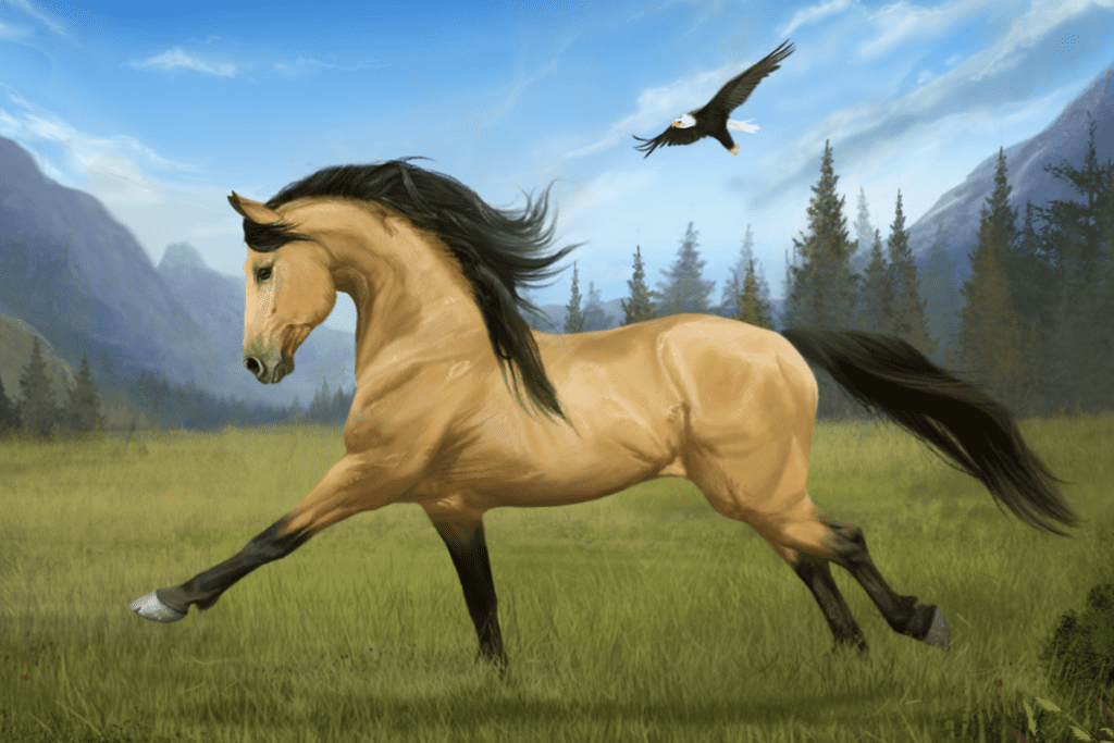 Koń z gry Ubisoft