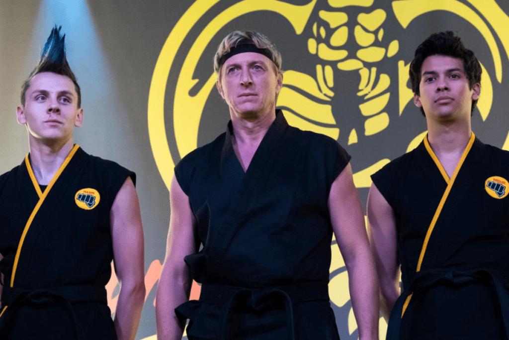 Cobra Kai - aktorzy z Karate Kid