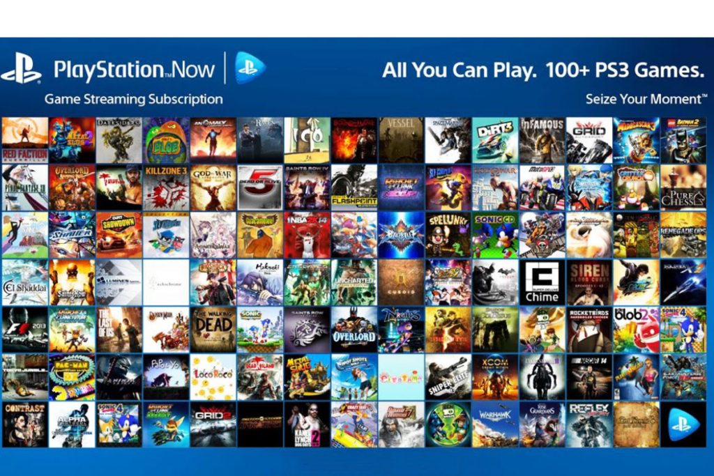 gry na Playstation now