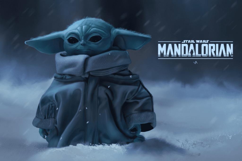 Mały Yoda w serialu Mandalorian
