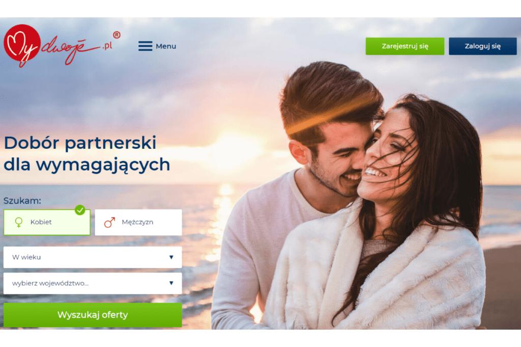 Strona portalu mydwoje.pl