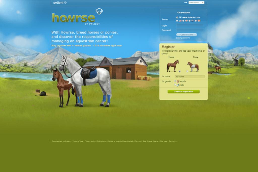 Odbiór gry Howrse