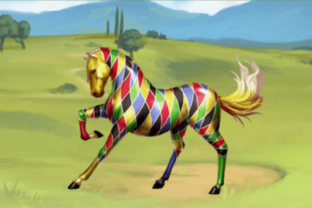 Koń ze specjalną skórką od Ubisoft