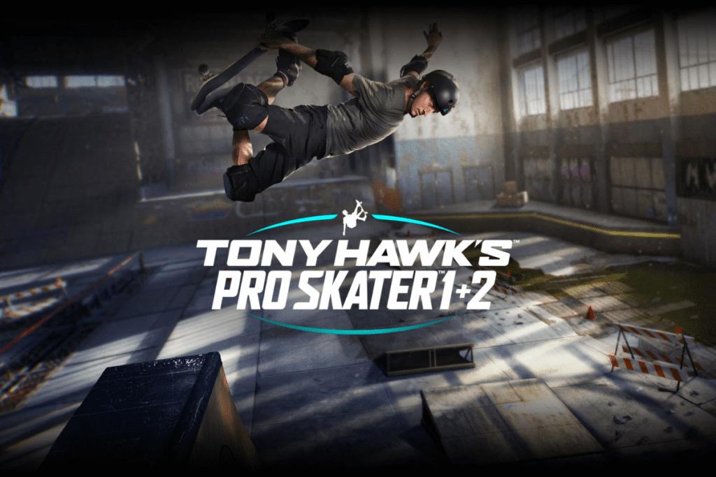 Tony Hawks remaster 1 i 2