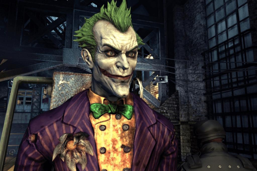 Joker w Arkham Asylum