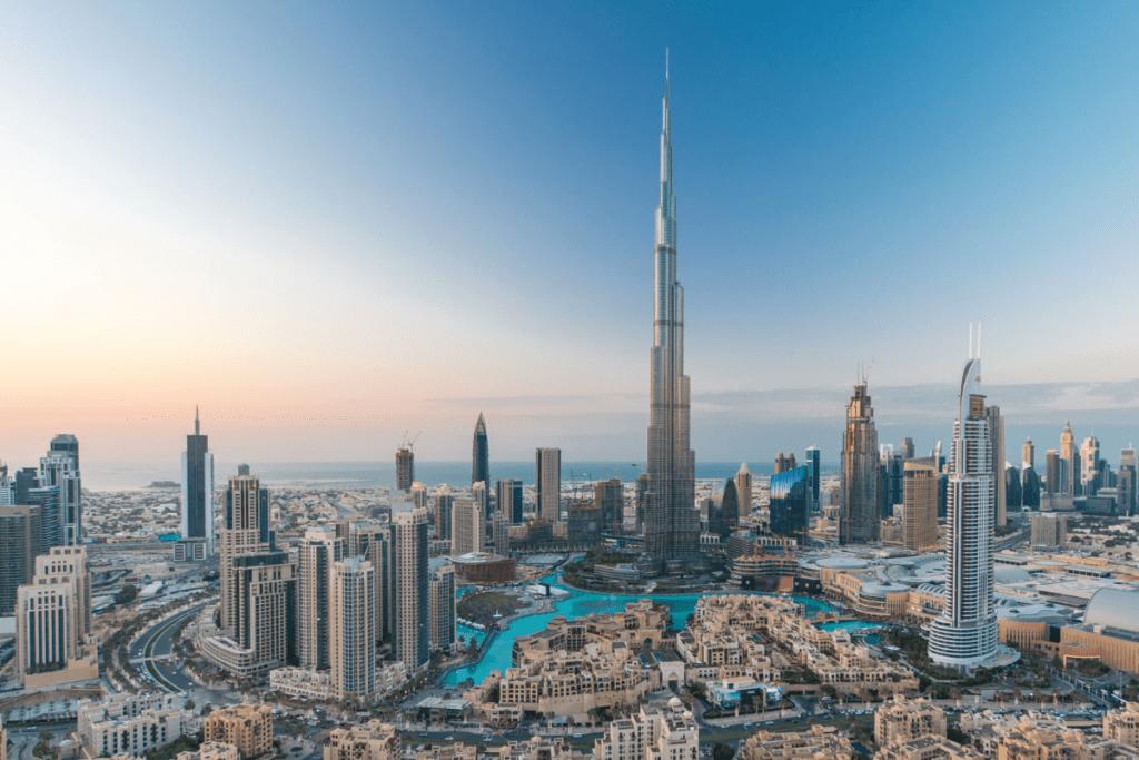 Burj Khalifa - najwyższy drapacz chmur obecnie