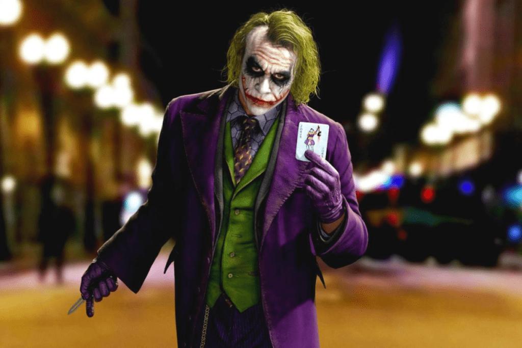 Heath Ledger jako Joker