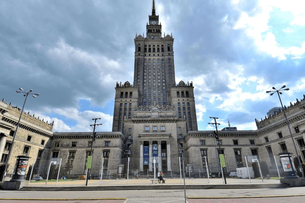 drapacze chmur w Poslce - Pałac Kultury i Nauki