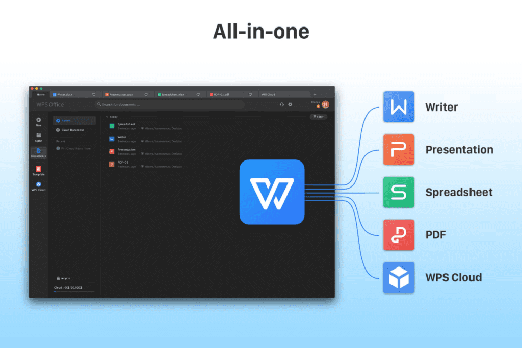 WPS Office - all in one