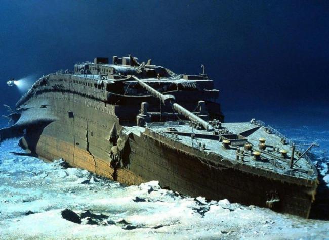 Wrak Titanica obraz główny