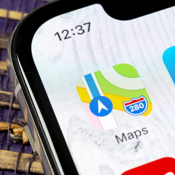 ikona apple maps
