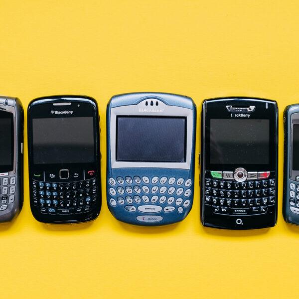 blackberry telefony