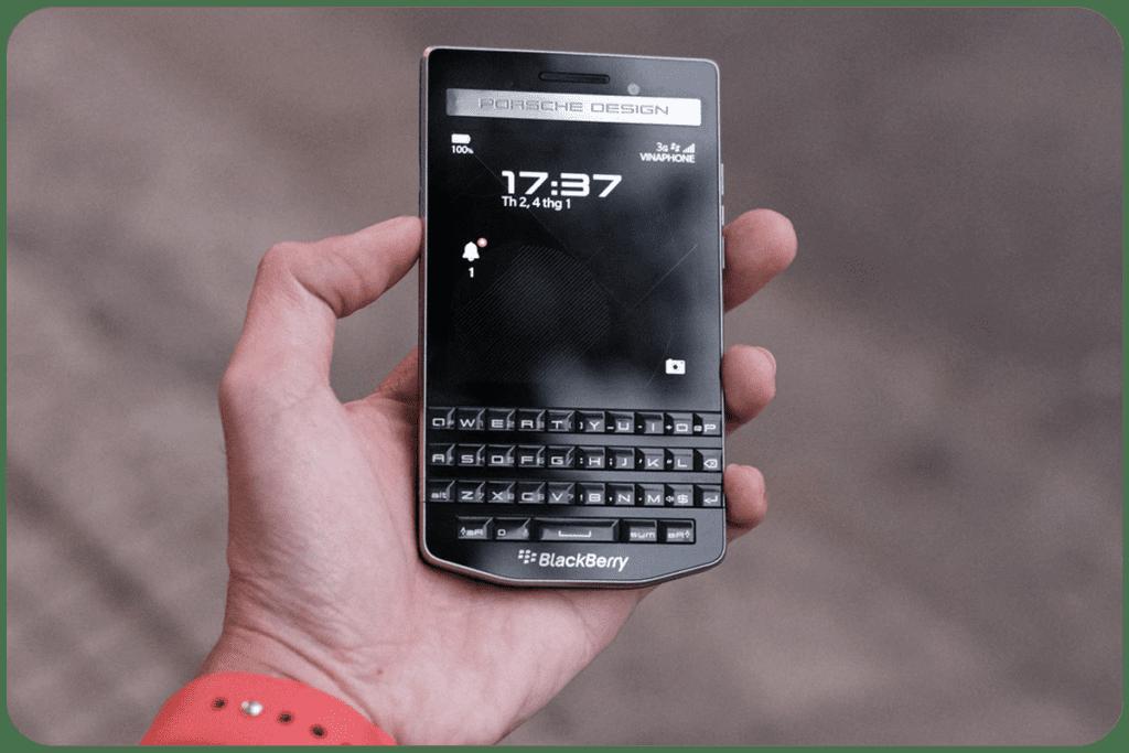 blackberry historia