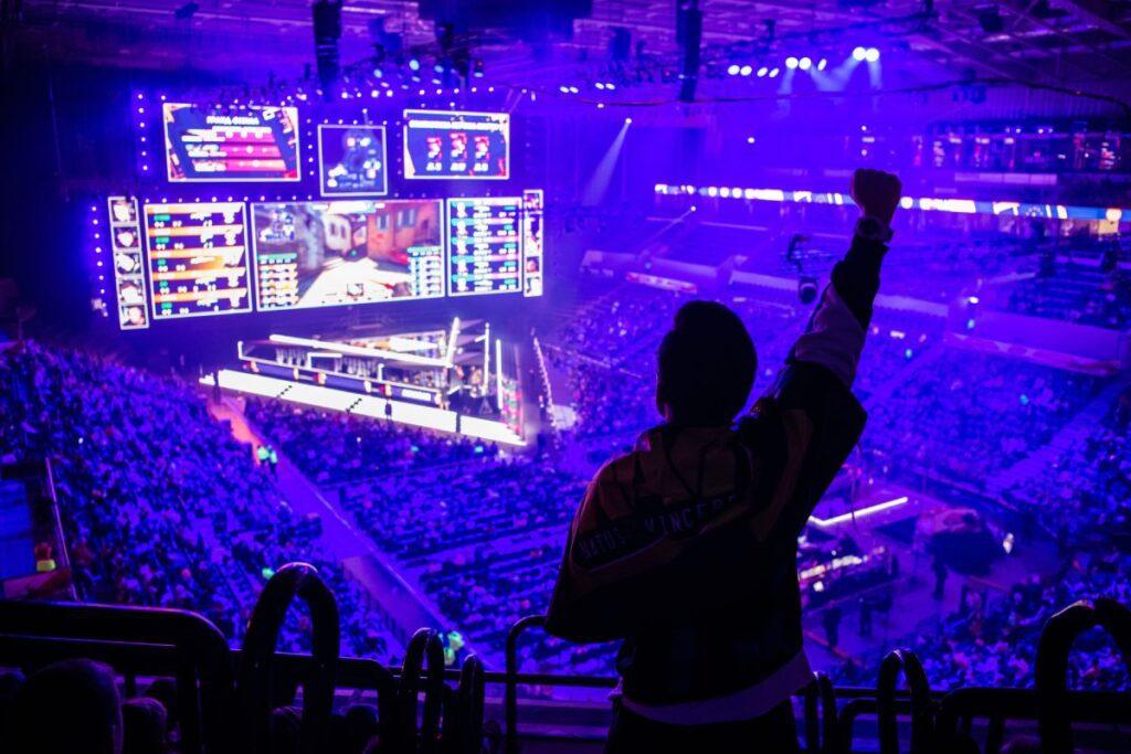 esport turniej arena publiczność cs 1.6