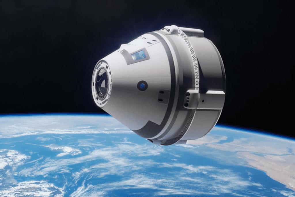 CST-100 Starliner w kosmosie