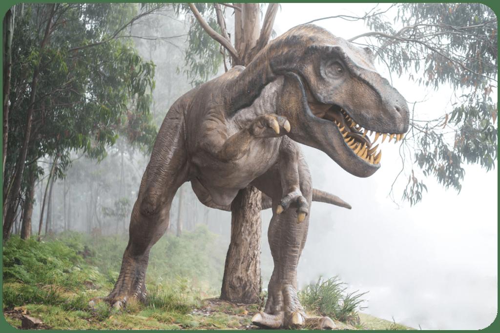 dinozaury tyranozaurus