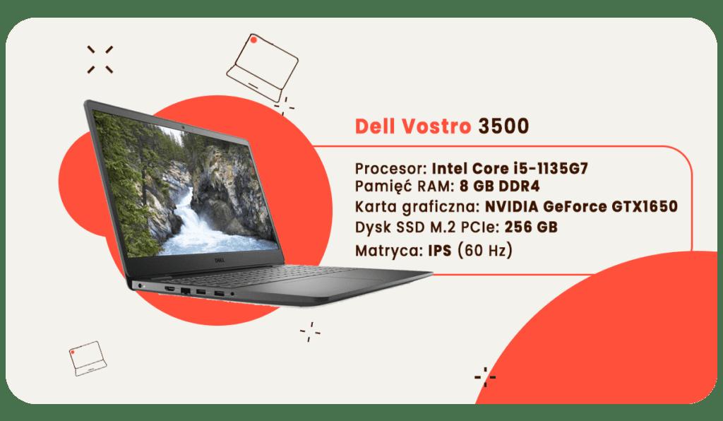 laptop dla studenta dell vostro 3500