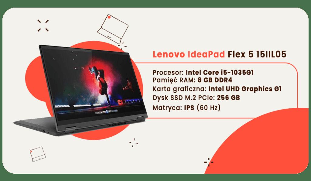 laptop dla studenta lenovo ideapad flex 5