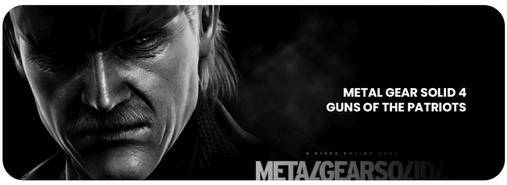 metal gear solid 4 guns of the patriot