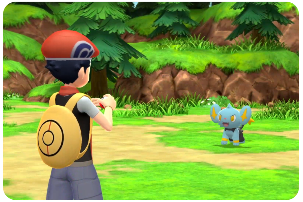 pokemon brilliant diamond gameplay