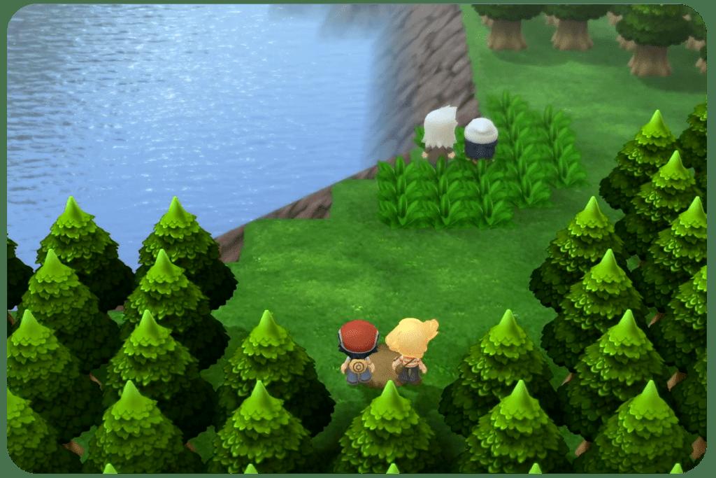 pokemon brilliant diamond remake