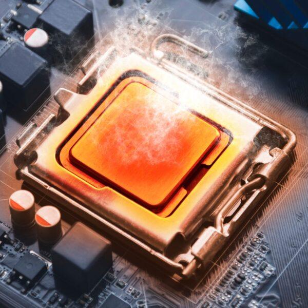 procesor się grzeje undervolting