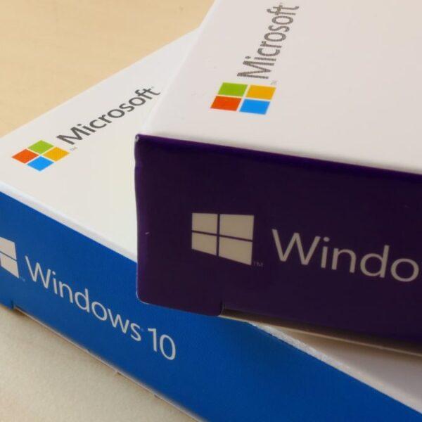 windows 10 pudełko