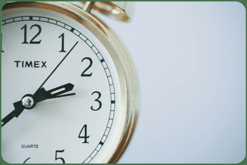 przestawienie zegarków