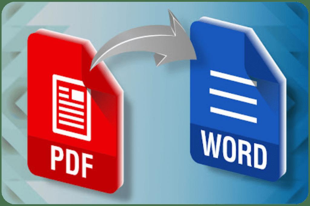 zamienianie PDF na Word
