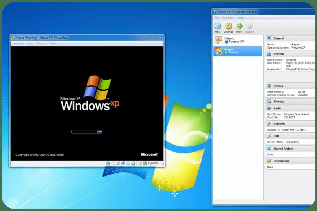 Windows Xp na Windows 7