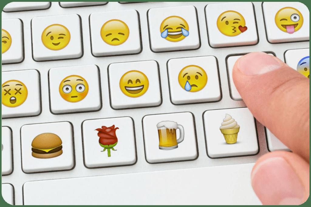emotikony na komputerze