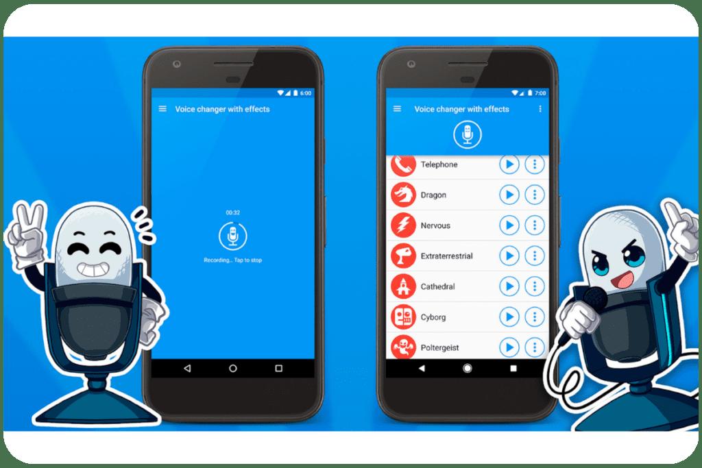 aplikacja do modulowania głosu