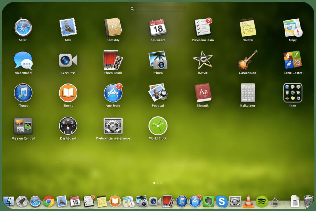 Aplikacje w systemie od Apple