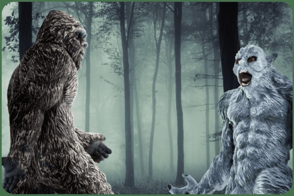Bigfoot i Yeti