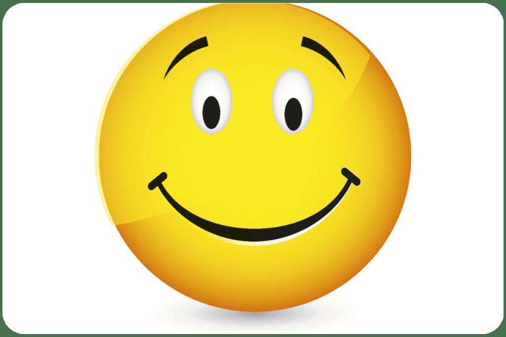 Uśmiechnięta buźka