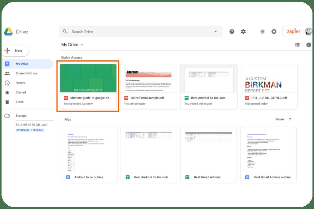 Konwertowanie w Dokumentach Google