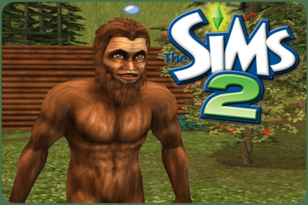 Wielka stopa w The Sims 2