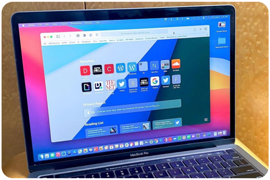 Macbook z Macos