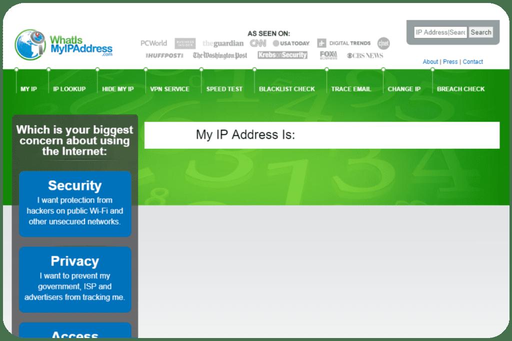 strona do sprawdzania IP