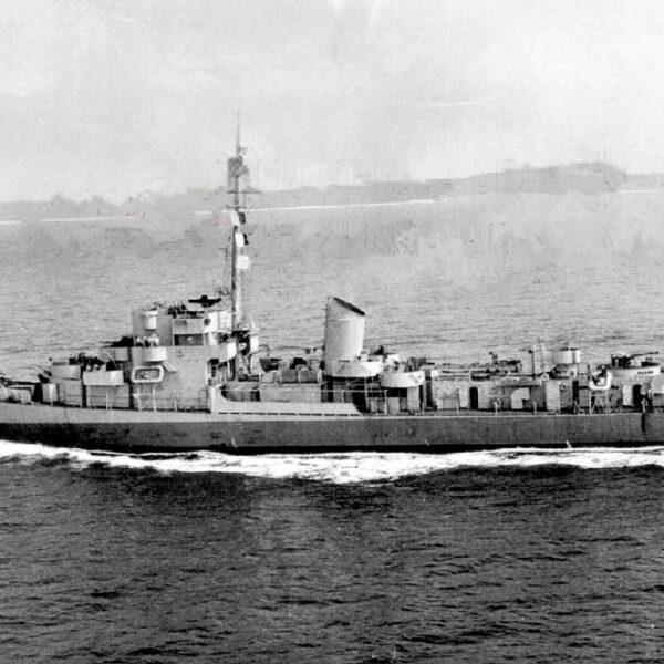 USS Eldridge na którym miało dojść do kontrowersyjnych eksperymentów