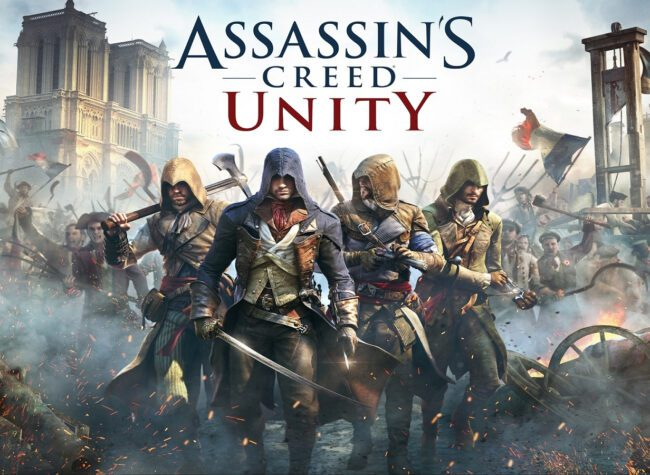 assassins creed unity paryż