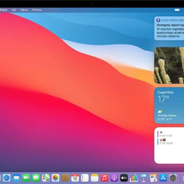 macOS ekran główny